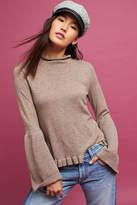 Knyt & Lynk Serene Bell-Sleeve Turtleneck