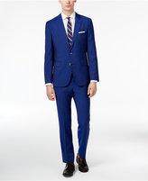 HUGO BOSS HUGO Men's Slim-Fit Blue Suit