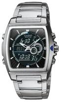 Casio Men's Ana-Digi Edifice Thermometer Bracelet Watch