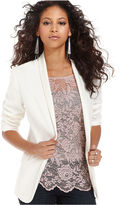 Bar III Jacket, Long-Sleeve Tuxedo Blazer