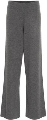 Jardin Des Orangers Wool wide-leg pants