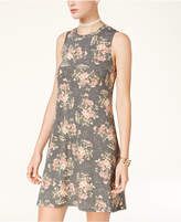 Amy Byer Juniors' Printed Swing Dress