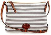 Dooney & Bourke Sullivan Collection Striped Cross-Body Pouchette