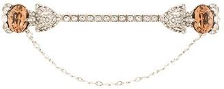 Dolce & Gabbana Rhinestone-Embellished Lapel Pin