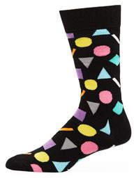 Happy Socks Men's Shapes Socks
