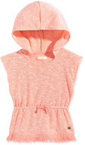 Roxy Seeing You Fringed Sleeveless Hoodie,Toddler & Little Girls (2T-6X)