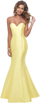 Blush Lingerie Sweetheart Mermaid Dress in Yellow 11238