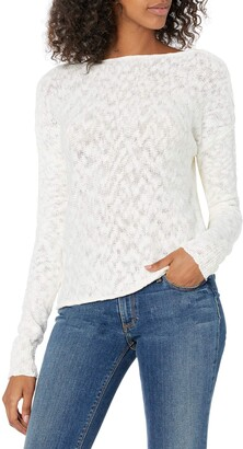 Cupcakes And Cashmere Women's Caddie Tie Back Pullover Sweater