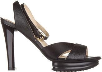 Hogan Strappy Platform Sandals