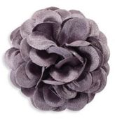 hook + ALBERT Solid Glitter Lapel Flower