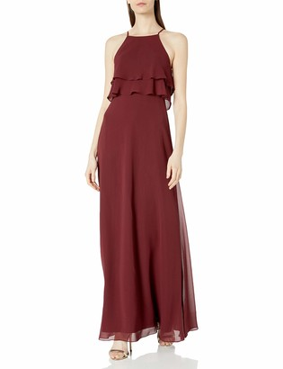 Jenny Yoo Women's Charlie Ruffle Bodice Gown