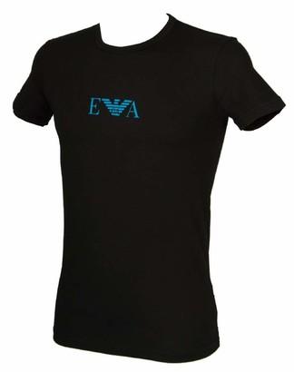 Emporio Armani Men's Multipack-Monogram T-Shirt