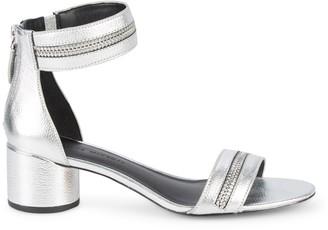 Rebecca Minkoff Slingback Leather Heeled Sandals