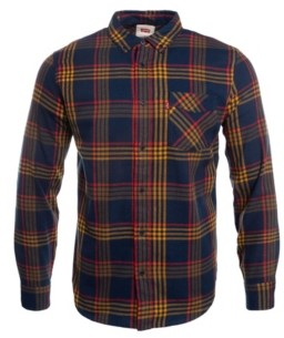Levi's Men's One Pocket Flannel Shirt