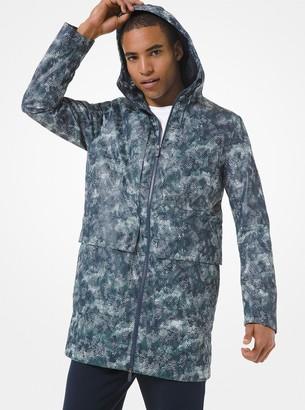 Michael Kors KORS X TECH Camouflage Mesh Anorak