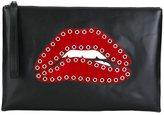 RED Valentino lips clutch
