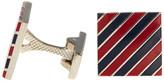 Jack Spade Striped Square Cuff Links