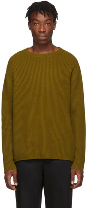 Acne Studios Brown Wool Sweater