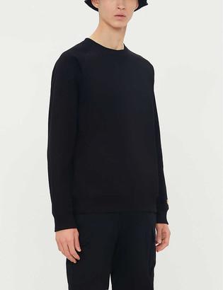 Carhartt Wip Chase logo-embroidered cotton-blend sweatshirt
