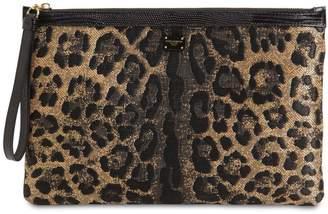 Dolce & Gabbana LEO JACQUARD POUCH