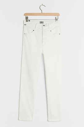 Citizens of Humanity Mia Ultra High-Rise Seamed Slim Jeans By in White Size 24