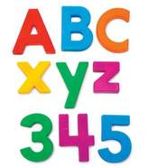 Educational Insights 126-Piece Multicolored Alphamagnets & Mathmagnets
