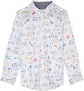 Paul Smith Bike print cotton shirt 4-12 years