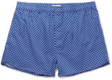 Derek Rose Ledbury Printed Cotton Boxer Shorts