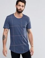 ONLY & SONS Check T-Shirt