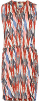 Etoile Isabel Marant Hollis Printed Crepe De Chine Dress