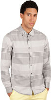 Ecko Unlimited Shirt, Slim Fit Long Sleeve Button Front Horizon Shirt