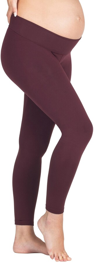 Thumbnail for your product : Modern Eternity Seamless Yoga Maternity Leggings