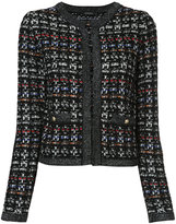 Loveless cropped tweed jacket