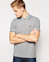 Lyle & Scott Polo Shirt with Tipping