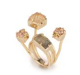 Alexis Bittar Geometric Multi Stone Ring