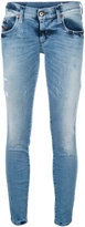 Diesel cropped skinny jeans - women - Cotton/Polyester/Spandex/Elastane - 26