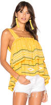 PIPER Pixies Tank in Yellow. - size L (also in M,S)