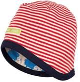 loud + proud Unisex Baby Wendemütze Striped Hat
