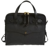 Filson Men's Canvas Tablet Briefcase - Black