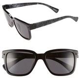 Lanvin Men's Retro Sunglasses - Shiny Black/ Smoke
