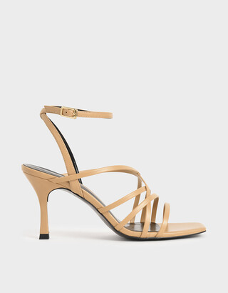 Charles & Keith Strappy Heeled Sandals