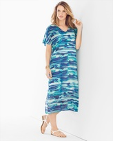 Soma Intimates Caftan Midi Dress Cover Up