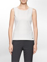 Calvin Klein Textured Sleeveless Top