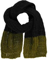 Boohoo Frankie Contrast Tip Knitted Scarf