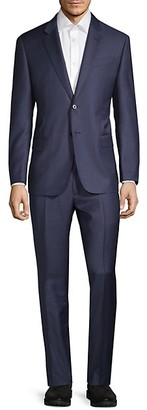 Armani Collezioni Classic-Fit Virgin Wool Suit