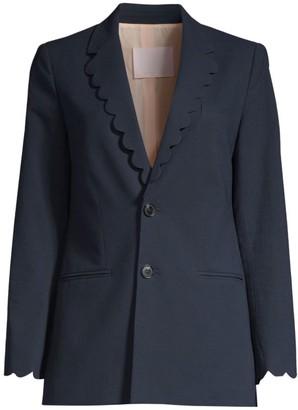 Rebecca Taylor Scallop Jacket