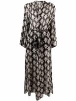 Thumbnail for your product : Antonelli Ofelia linen dress