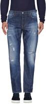 Aglini Denim pants - Item 42593135