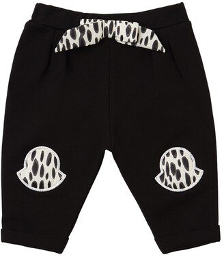 Moncler Cotton Sweatpants W/ Patches