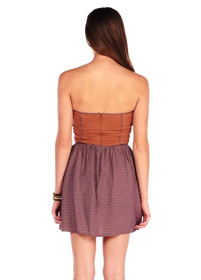 Ark & Co. Princess Lined Corset Dress